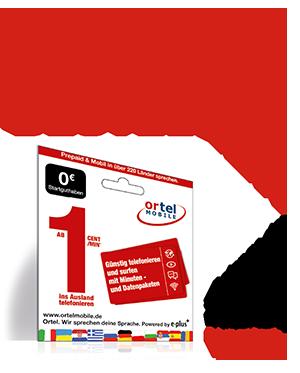 Ortel Mobile Freikarte Mit 0 Euro Guthaben